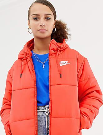 Nike Chaqueta acolchada con capucha en rojo de Nike 309d56ef312