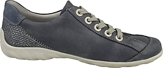 Remonte Screen Womens Casual Lace Up Shoes 3/36 Jeans SS19