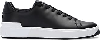 Balmain Logo Sneakers Mens Black