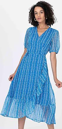 Vero Moda YASCordelia SS Midi Kleid print