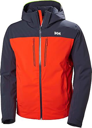 Helly Hansen Mens Signal Jacket Track, Red (Rojo/Azul 135), Medium