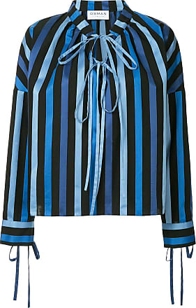Osman Blusa Jacky listrada - Azul