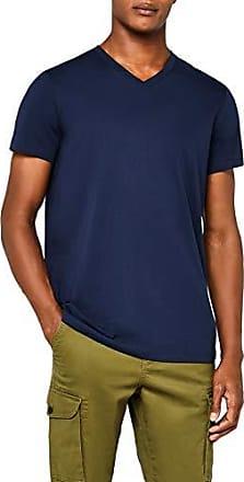The Drop Lindsey Camiseta de manga corta de corte holgado con cuello de pico