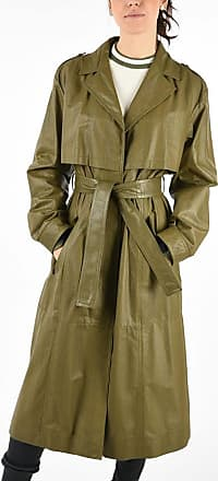 Drome Leather Openwork Coat Größe S