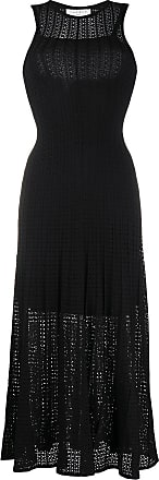Sandro Aleane flared dress - Black