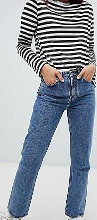 Weekday Voyage organic cotton straight leg jean in blue