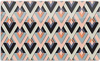 KESS InHouse AkwaflorellSweet & Sharp Pink Green Artistic Aluminum Magnet, 2 by 3, Multicolor