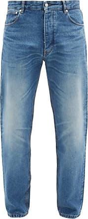 Ami Ami - Straight-leg Cotton-denim Jeans - Mens - Blue