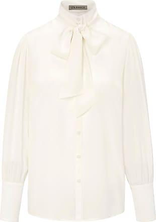 Uta Raasch Blus i 100 % silke från Uta Raasch vit 6aa756ef54c78
