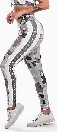 Kaisan Calça Legging Kaisan Sublimada Shades of Gray Camo