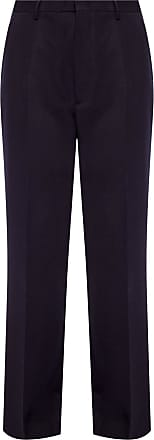 Etro Creased Trousers Womens Navy Blue