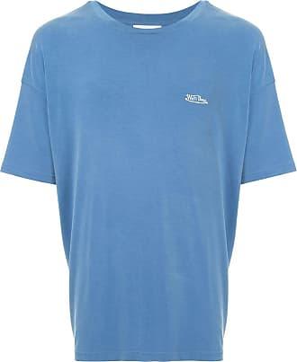 We11done Oversized-T-Shirt - Blau