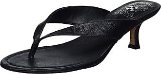 Vince Camuto Womens Marlinda Toe-Thong Sandal Heeled, Black, 5.5 UK