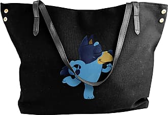Juju Blueys Dance Womens Classic Shoulder Portable Big Tote Handbag Work Canvas Bags