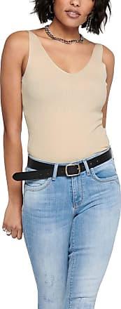 Jacqueline de Yong Womens Jdynanna S/l Top KNT Noos T-Shirt, Tapioca, S