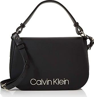 Calvin Klein Dressed Up Satchel, Womens Black, 1x1x1 cm (W x H L)