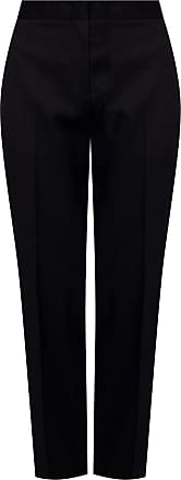 Jil Sander Wool Trousers Womens Black