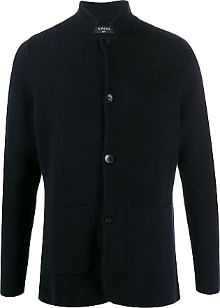 N.Peal Milano fitted jacket - Blue
