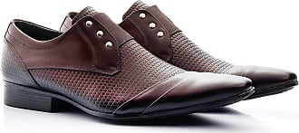 Di Lopes Shoes Calçado Masculino Confeccionado 100% em Couro (38, Preto)