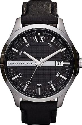 A|X Armani Exchange Relógio Couro Preto - Homem - Único IT