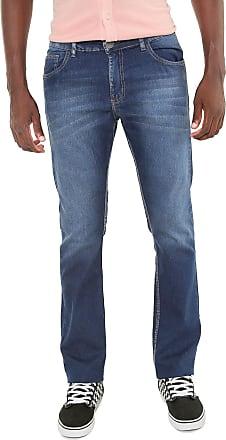 Doc Dog Calça Jeans Doc Dog Reta Estonada Azul