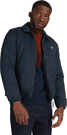 Lyle & Scott Lyle and Scott Mens Wadded Harrington Jacket - XL Dark Navy