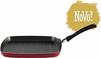 Brinox Grill Garlic 0,75L Vermelho 24X24X2,3cm - Lifestyle - Único BR