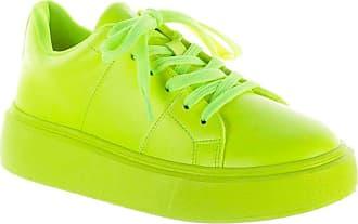 Damannu Shoes Tênis Valentina Verde Lima - Cor: Verde - Tamanho: 38