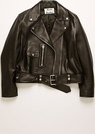 Acne Studios New Merlyn Black Leather biker jacket