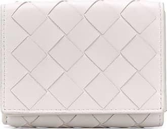 Bottega Veneta Intrecciato folding wallet - Branco
