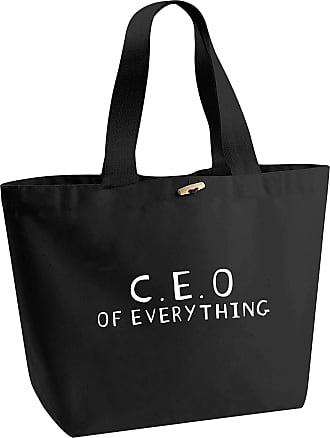 Flox Creative Organic Cotton Heavyweight Tote Bag C.E.O Of Everything