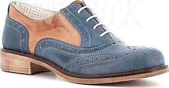 Generico Generic Made in Italy English Stringed Leather - Blue Size: 5 UK