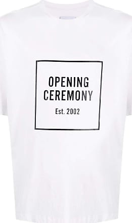Opening Ceremony Fashion Man YMAA001F20JER0070210 White Cotton T-Shirt | Fall Winter 20