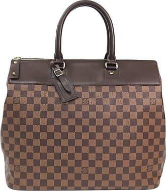 da5ab07bed88 Louis Vuitton Brown Mens Womens Large Carryall Travel Top Handle Tote Bag