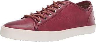 Frye Mens Brett Low Sneaker Crimson 10.5M