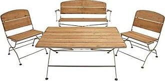 UMA Enterprises Inc. Deco 79 Metal Wood Patio Home Decor Product (Ab) (Set of 4), 47 W/21 H