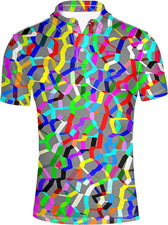 Hugs Idea Colorful Design Personalized Mens Regular Fit Jersery Sport Shirt Summer Hipster Short Sleeves T-Shirt Tee Tops