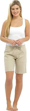 Lora Dora Womens Linen Shorts