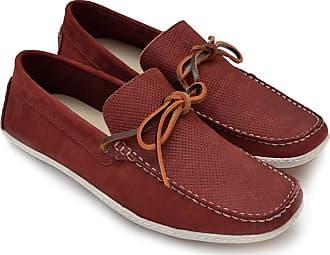 Di Lopes Shoes Mocassim feito em Couro Masculino (38, Bordo)