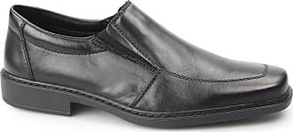 Rieker Travis Mens Formal Slip On Shoes 7/41 Black