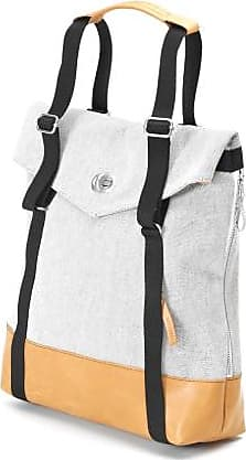 Qwstion Tote Raw Blend Naturleder - Grey/Leather /Black