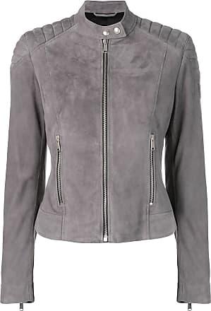 77cb0bffb5d Belstaff Mollison Leather Jacket - Grey