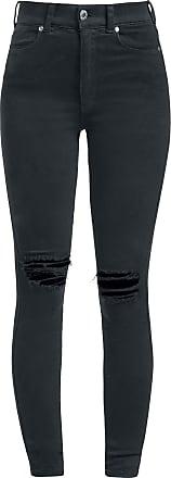Dr. Denim Moxy Ripped Knees - Jeans - schwarz