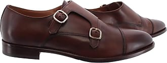 Doucal's Mens Elegant Shoes Radica Soft Brandy Leather Brown
