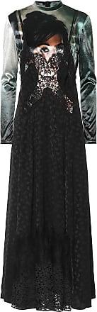 Stella McCartney Velvet and floral jacquard dress