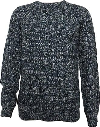 Mens Brave Soul Dawkins Chunky Knit Crew Neck Jumper NEW Sizes S-XL