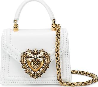 Dolce & Gabbana Bolsa Devotion micro - Branco