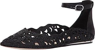 Imagine Vince Camuto Womens GARYN Ballet Flat, Black, 7.5 Medium US