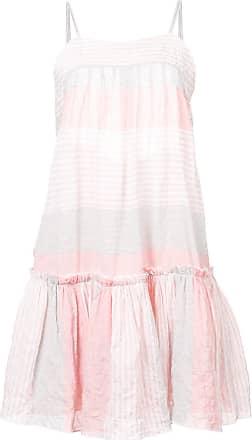 Lemlem Vestido Dera mini - Rosa