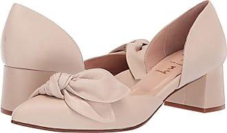 3d5c9b3c23e French Sole Danielle DOrsay Bow Pump (Beige Soft Calf) Womens Shoes